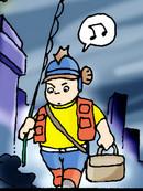 肖刚钓鱼漫画